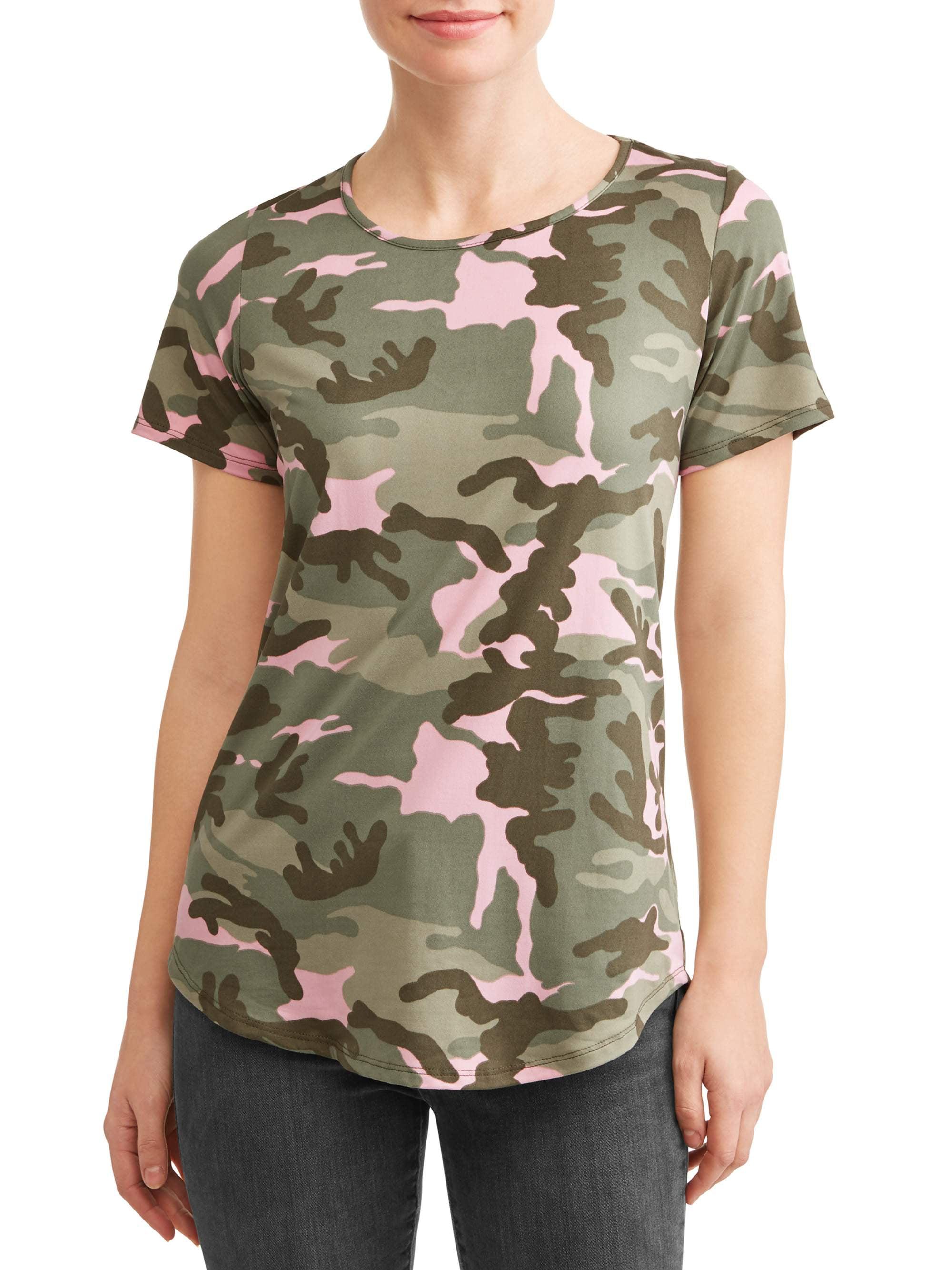 Women's Camo Short Sleeve T-Shirt