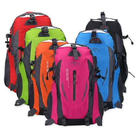 Yosoo 6 Colors 40L Waterproof Backpack Shoulder Bag For Outdoor Sports  Climbing Camping Hiking, Outdoor Sports Backpack, Climbing Bag(green) -  Walmart.com 29c675ccba