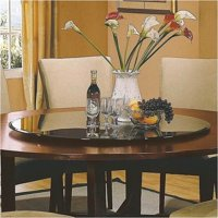 """Bowery Hill Lazy Susan 40"""" Round Triple Edge by Bowery Hill"""