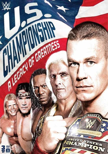 WWE: U.S. Championship Legacy of Greatness (DVD) by WARNER HOME VIDEO