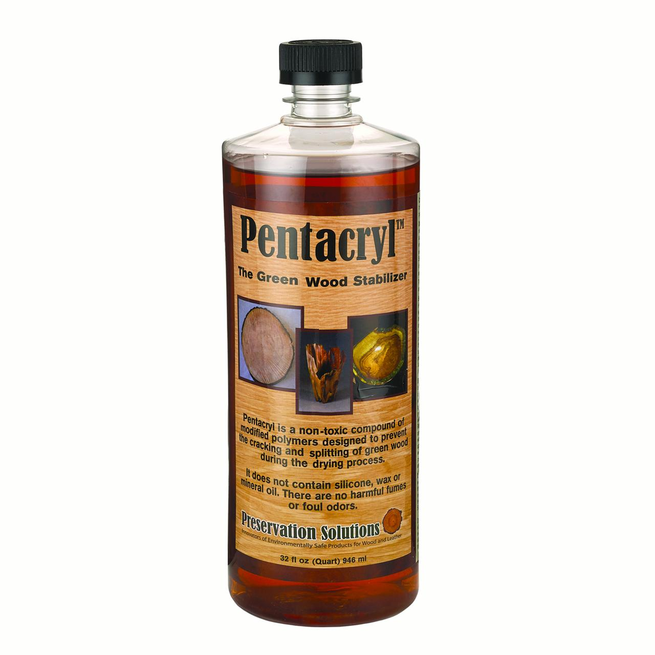 Quart, Pentacryl Wood Stabilizer