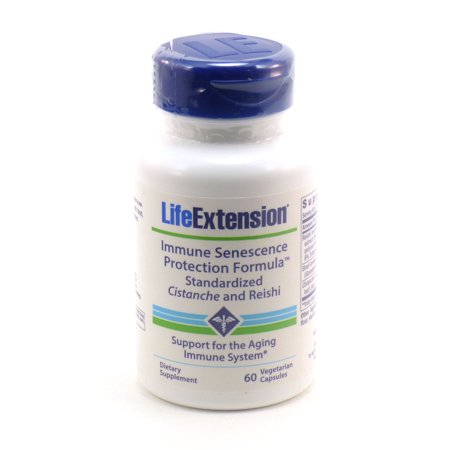 Immune Senescence Protection By Life Extension   60 Capsules