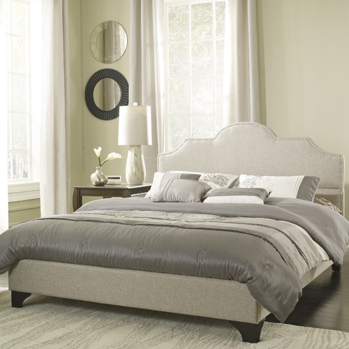 Eco-Lux Upholstered Platform Bed
