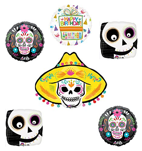 Coco Party Supplies Birthday Theme Balloon Bouquet Decorations ...