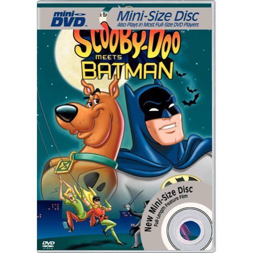 Scooby-Doo Meets Batman (Mini-DVD)