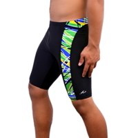 Adoretex Men's New Direction Jammer Swimsuit in Black/Blue Size 26