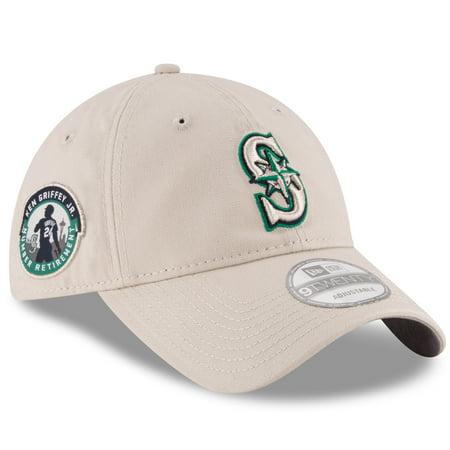 Ken Griffey Jr. Seattle Mariners New Era All-Time Slouch 9TWENTY Adjustable Hat - Khaki -