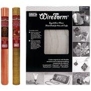 "Amaco WireForm 1-Sheet Pack, Aluminum 16"" x 20"" 1/16"" Mesh Contour"