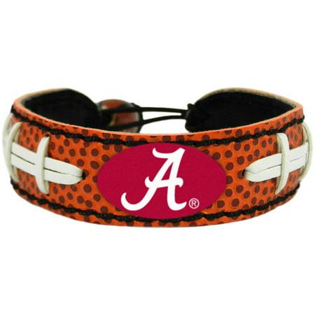 Ncaa Alabama Crimson Tide Football Bracelet