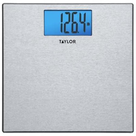 NEW 400  Textured Stainless Steel Finish Digital Scale Accurate To 400 L ()