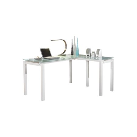 Signature Design by Ashley Baraga White L-Desk
