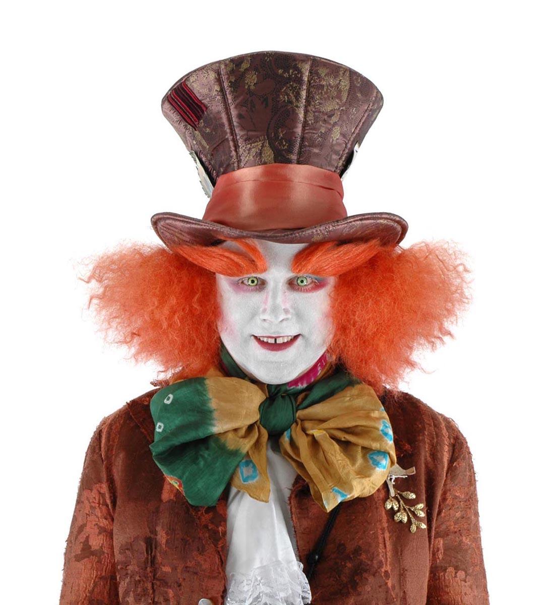 Alice In Wonderland Mad Hatter Costume Eyebrows Adult