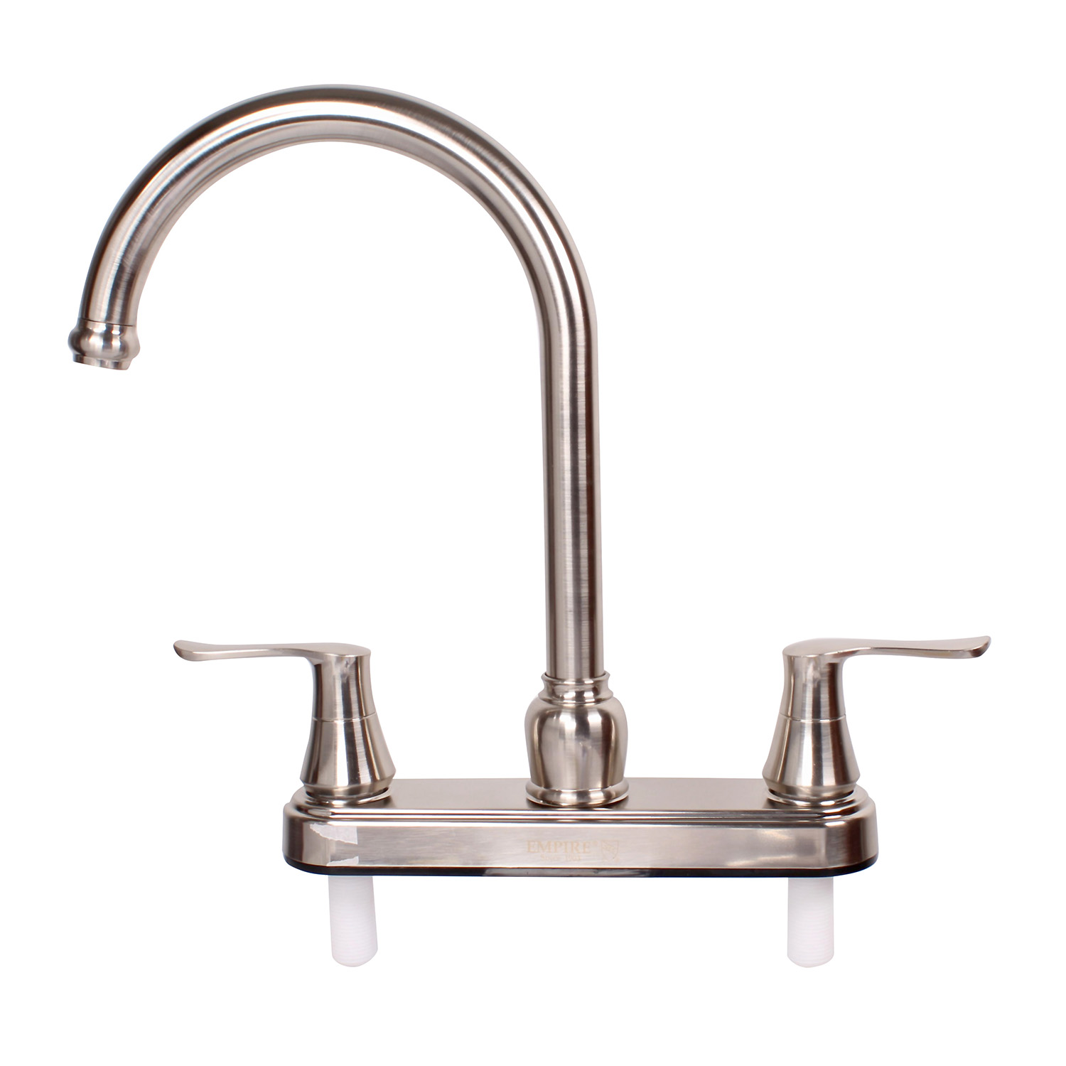 Empire Faucets 8 Rv Kitchen Faucet Head Replacement Brushed Nickel Handles Walmart Com Walmart Com