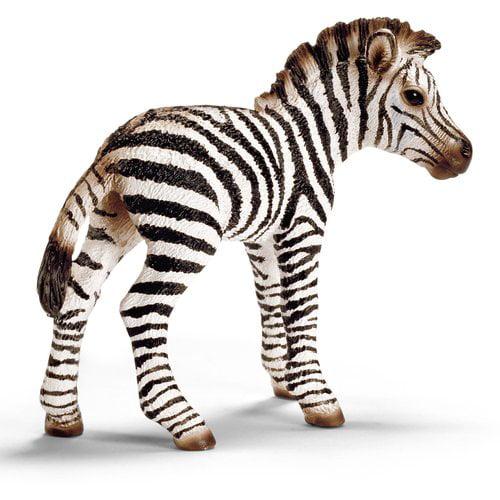 Schleich Zebra Foal Animal Figurine