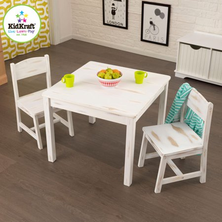Kidkraft Aspen Table Amp 2 Chair Set 21202 Walmart Com