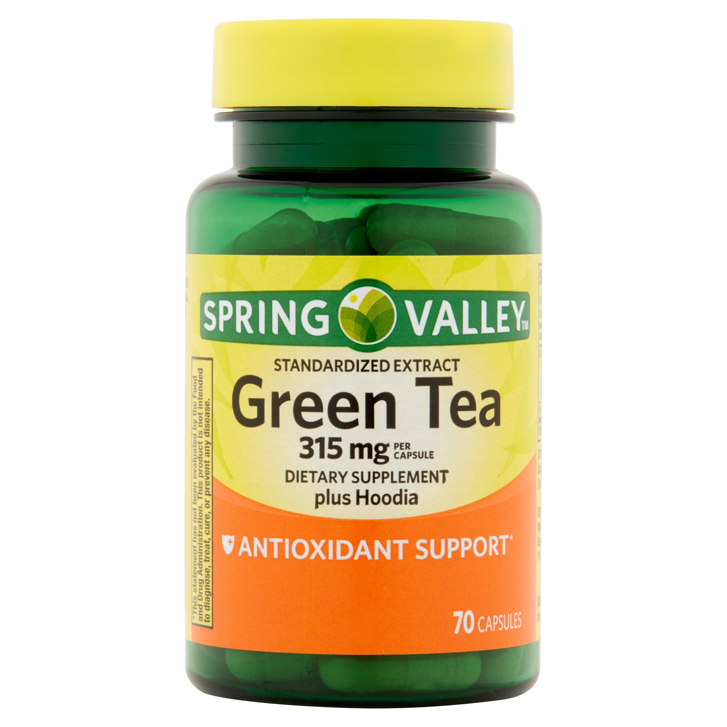 Spring Valley Green Tea Extract Capsules, 315 mg, 70 Ct