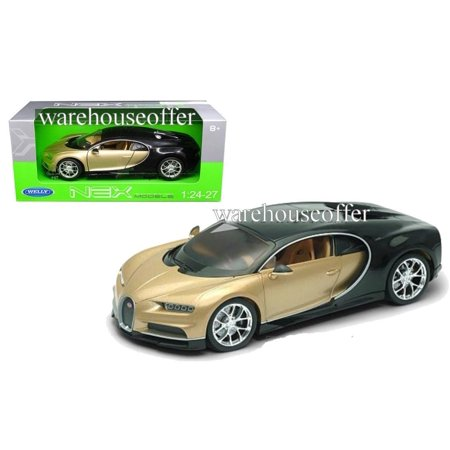 Welly 1 24 Window Box Bugatti Chiron  Two Tone  24077W Gld