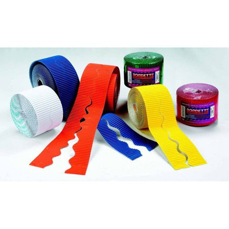Bordette Dress up Any Bulletin Border Kit with These Fade Resistant, 2.25