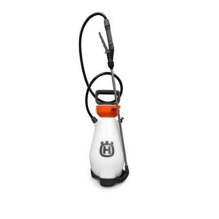 Genuine Husqvarna 596766101 2 Gallon Pump Sprayer with 3 Nozzle Kit (Sprayer Pto Pump)