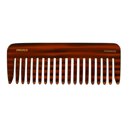 Swissco 1713 Tortoise Wet Comb Wide Tooth