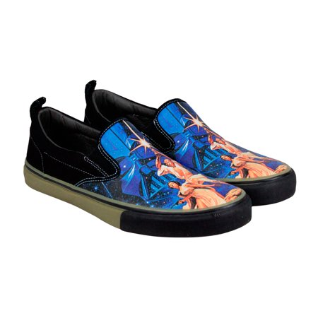 Skechers - Skechers Star Wars The Menace A New Hope Mens Canvas Black  Loafers Shoes - Walmart.com 7fb6550bb