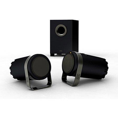 Altec Lansing 2 1 Speaker System, BX1221 - Black