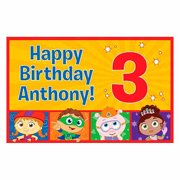 Personalized Super Why! Happy Birthday Placemat