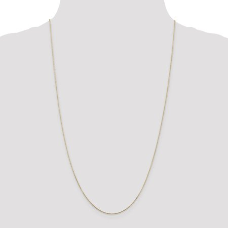 14K Yellow Gold .80mm Diamond Cut Cable Chain 24 Inch - image 1 de 5