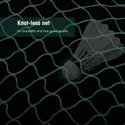 Kritne Badminton Mesh, 2 Colors Portable Durable Badminton Mesh Net for Outdoor Sports Entertainment Training, Badminton Net
