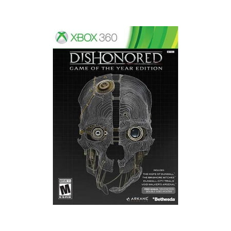 Bethesda Softworks Dishonored Game of the Year Edition (Xbox (Best Platform Games Xbox 360)