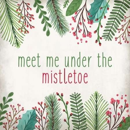 Meet Me Poster Print by Kimberly Allen (12 x 12)