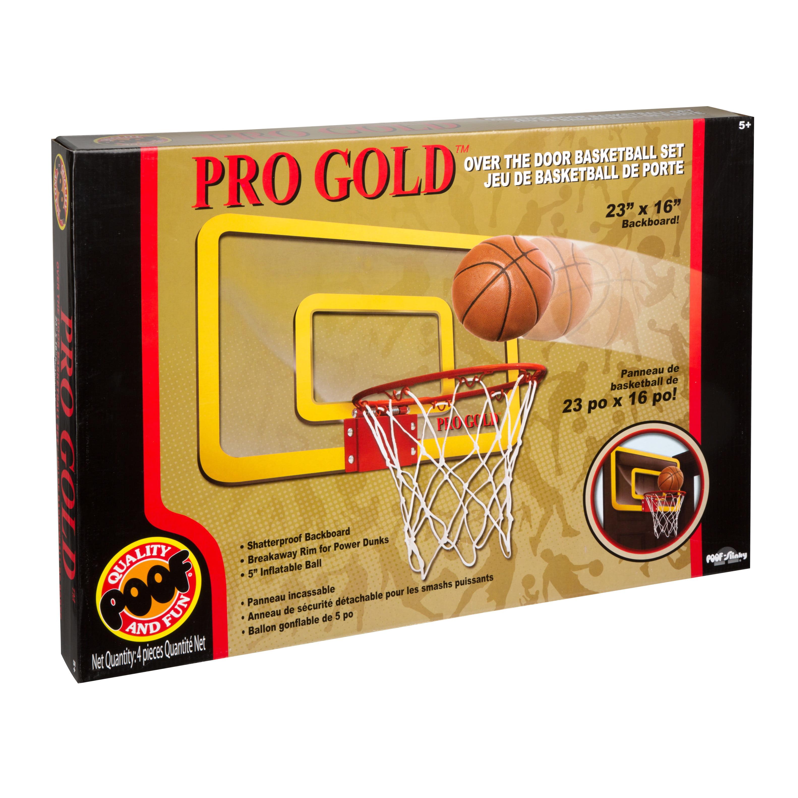 POOF Pro Gold Large Basketball Hoop   Walmart.com