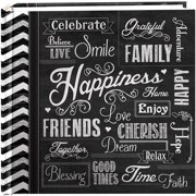"Pioneer 2-Up Chalkboard Print Album 4""X6""-Happiness"