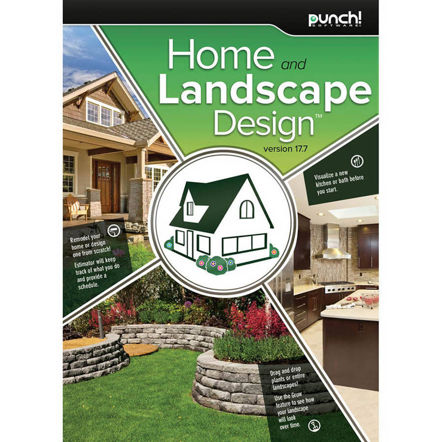 Encore Software LIC3919 Punch Home and Landscape Design 17.7 (Digital Code)