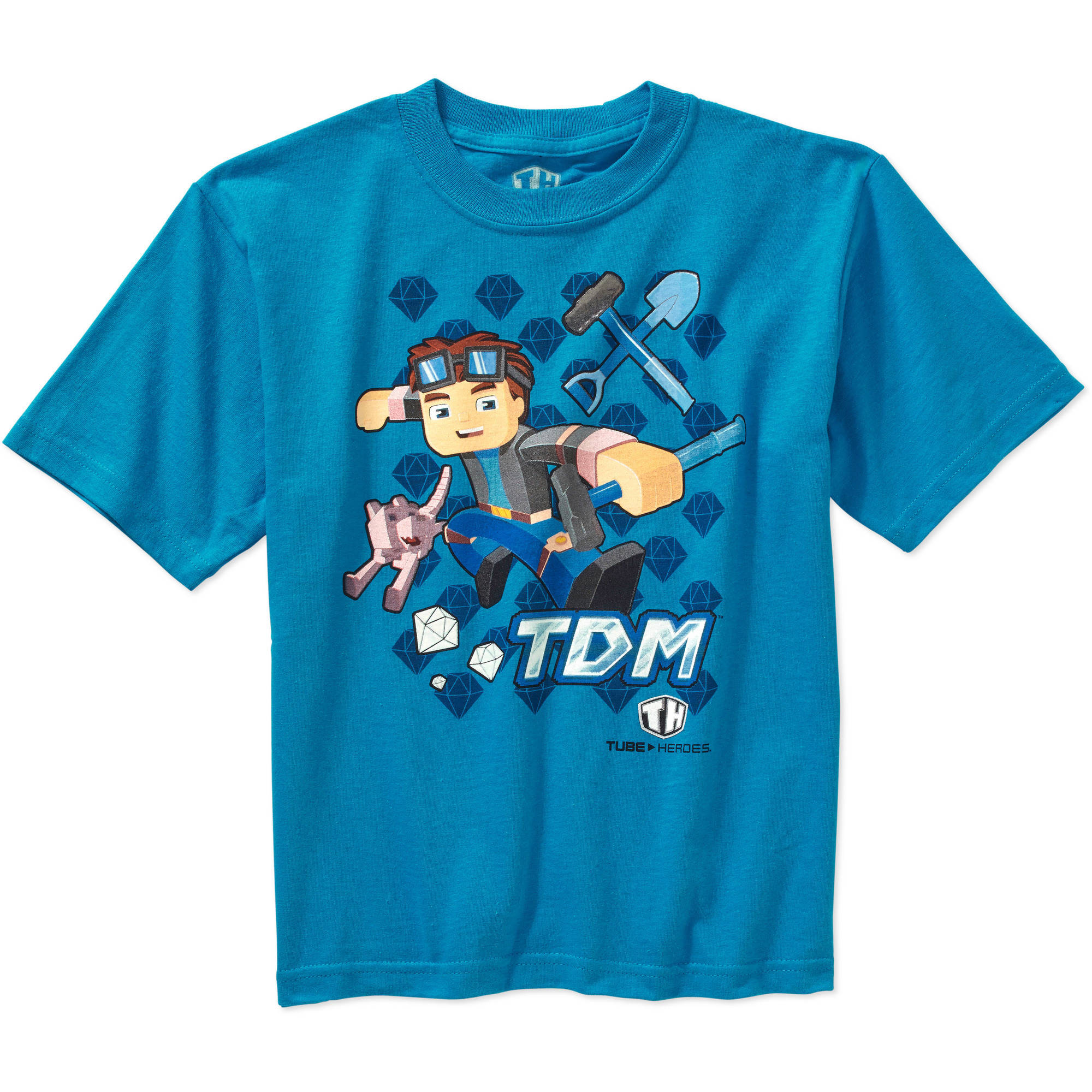 Tube Heroes Boys' TDM Character Graphic Tee