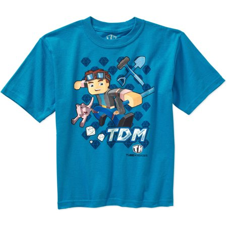 Tube Heroes Boys Tdm Character Graphic Tee