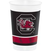 University of South Carolina Plastic Cups, 8pk by CREATIVE CONVERTING