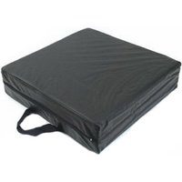 """Deluxe Seat Lift Cushion, 16"""" X 16"""" X 4"""", Black [ Sold by the Each, Quantity per Each : 1 EA, Category : Wheelchair Accessories, Product Class : Miscellaneous DME ]"""