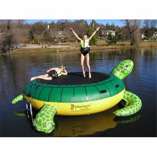 Aqua Sports THOP Island Hopper Turtle Hop Trampoline