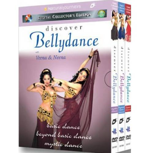 Discover Bellydance: Basic Dance / Beyond Basic Dance / Mystic Dance (Gift Boxed Set)