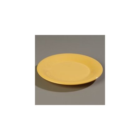 Black Rimmed Dinner Plate - Carlisle Food Service Products Sierrus  12'' Melamine Wide Rim Dinner Plate (Set of 12)
