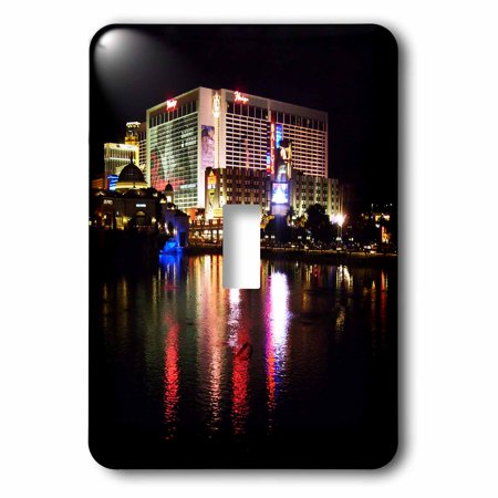 3dRose Flamingo Casino in Las Vegas Nevada - Single Toggle Switch (lsp_156499_1)