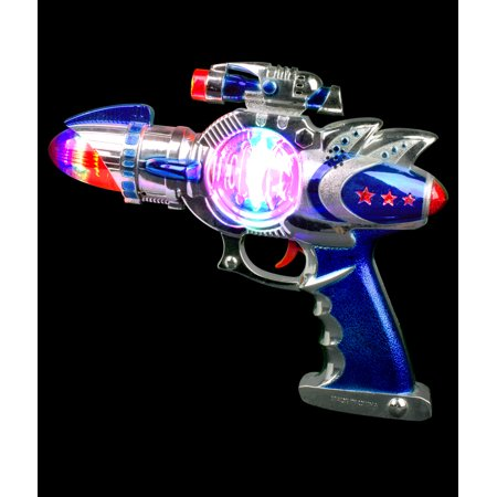 LED Spinning Space Blaster Gun - Guns In Space