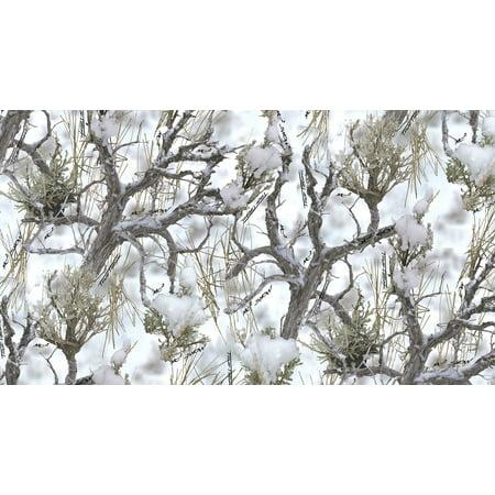 - 1000 Denier Coated CORDURA® HP Polyester True Timber MC2 Snow Camouflage Fabric, 60