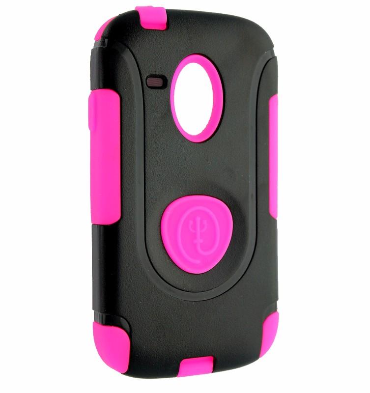 Trident Aegis Series Case for Samsung Galaxy S3 III III Mini - Pink/Black