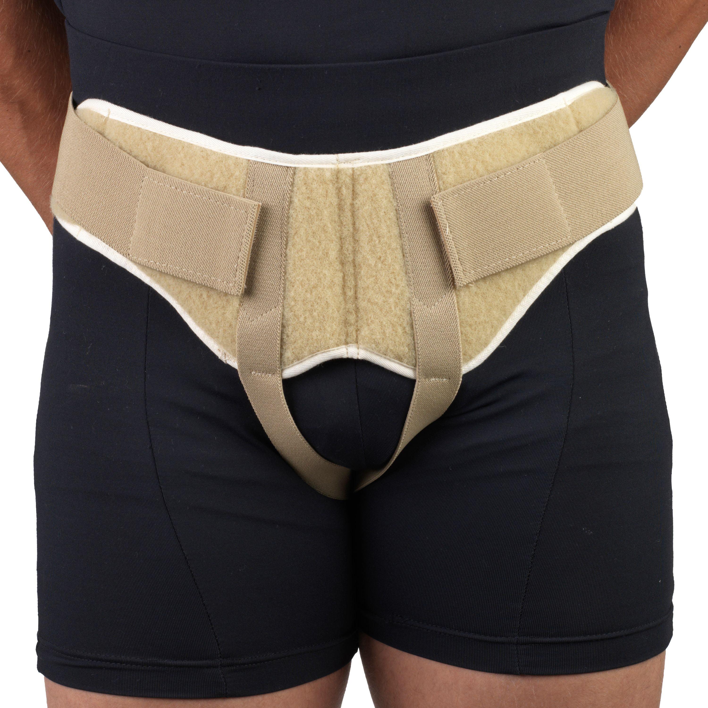 OTC Lightweight Hernia Belt, Beige, Small