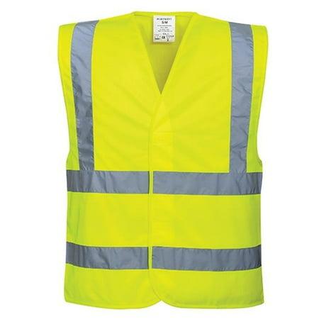 Portwest C470 Small - Medium Hi-Visibility Band & Brace Vest, Yellow - Regular