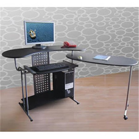 Regallo Expandable L Shaped Computer Desk