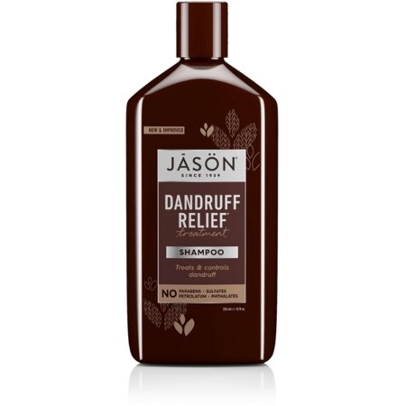 Jason Natural Cosmetics Dandruff Relief Shampoo 12 oz (Pack of