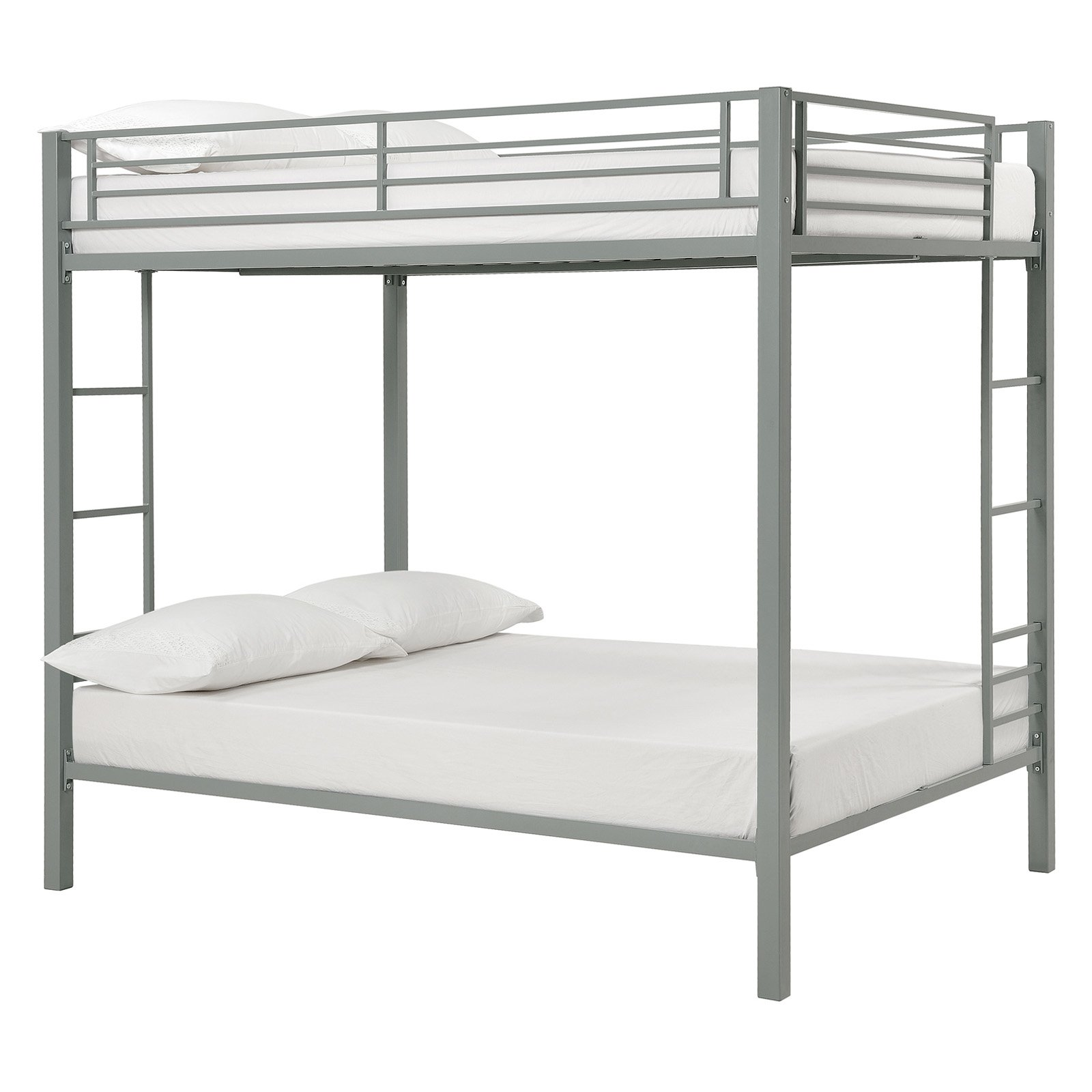 Dorel Full Over Full Metal Bunk Bed, Multiple Finishes by Dorel Home Products